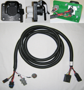 Rear extension harness