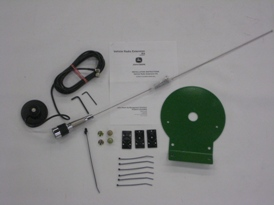 Magnetic rover antenna