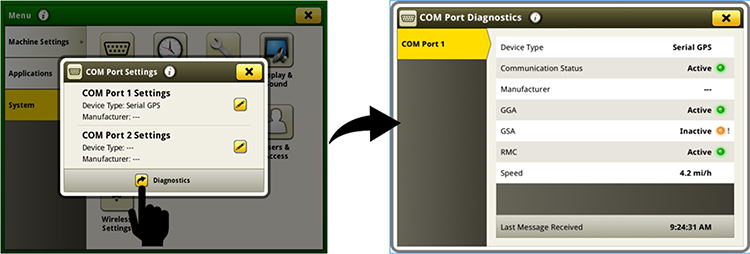 Ensure controller communication with additional diagnostics