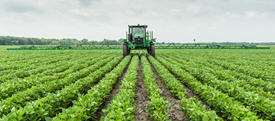 AutoTrac Vision minimizes crop damage