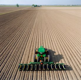 Planting can require precise accuracy