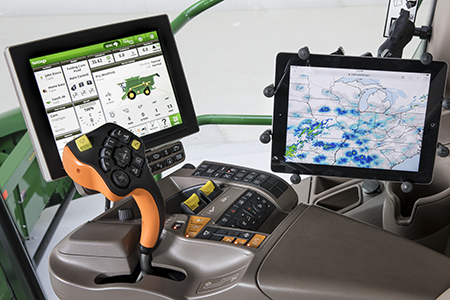 Harvesting technology in the cab