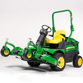 1570 Front Mower with deck raised