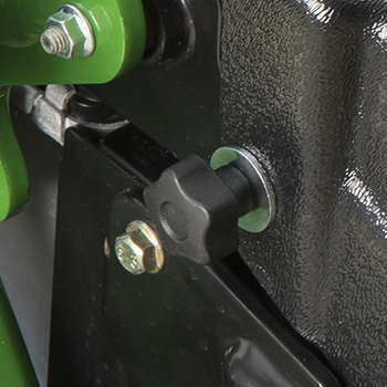 Radiator cover knob
