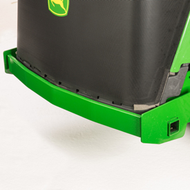 Cast-iron rear bumper