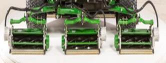 Electric motors drive cutting units