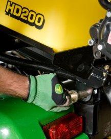 Removing the rear pivot pin
