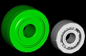 Premium bearing and standard bearing