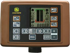 Advanced settings and information on BaleTrak display