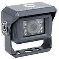 Rear camera on the baler