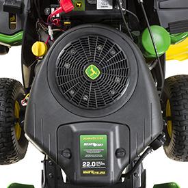16.4-kW (22-hp) engine