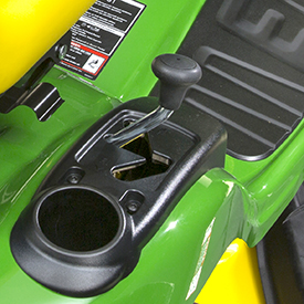 Automatic transmission forward/reverse shift lever