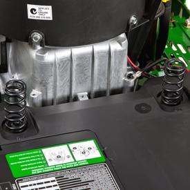 Seat suspension springs