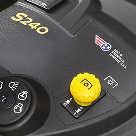 Power take-off (PTO) switch