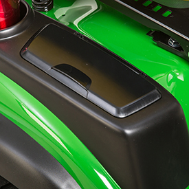 Storage compartment with cover