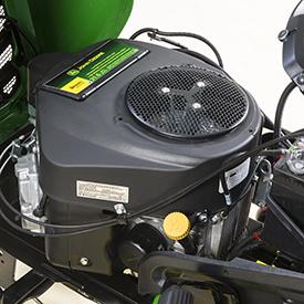 16-kW (21.5-hp) V-twin engine