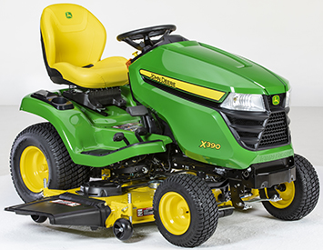 X390 with Accel Deep 54A Mower Deck