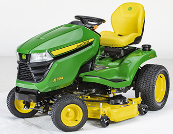 X394 with Accel Deep 48A Mower Deck