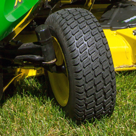 Tractor front wheel