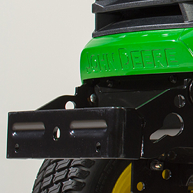 Front bumper/weight bracket