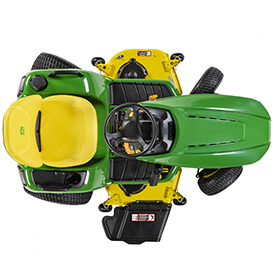 Four-wheel steer maneuverability