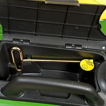 Exact Adjust tool and mower leveling gauge