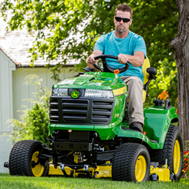 X730 Tractor with 48A Mower Deck