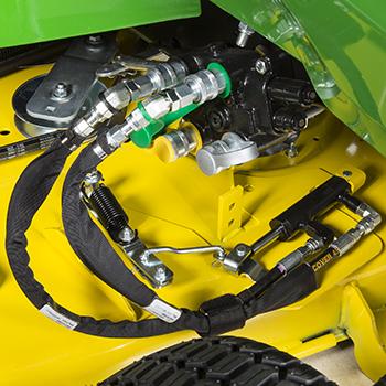 Hydraulic MulchControl actuator option