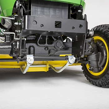 Full-time 4WD front axle