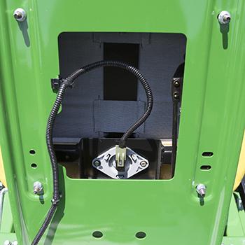 Operator presence system seat switch