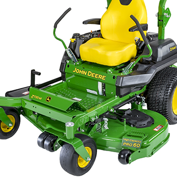 Z735M with 152-cm (60-in.) HC PRO Mower Deck