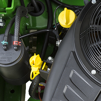 Engine oil check/fill and drain tube (Z735E, Z735M)