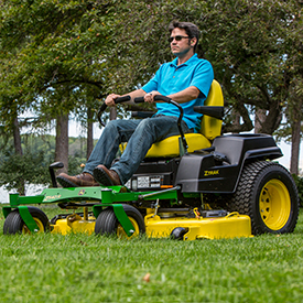54-in. (137-cm) HC Mower Deck shown on a Z540R