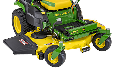 High capacity mower deck (right front)