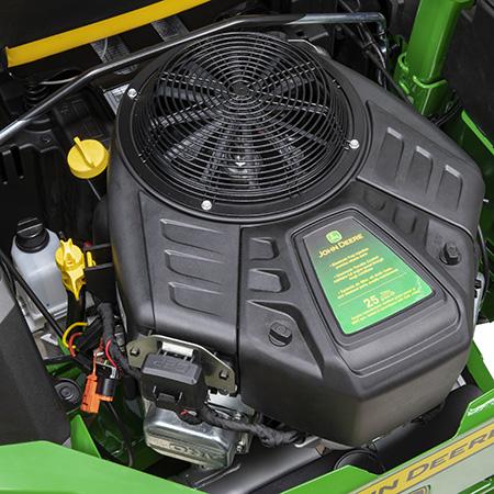 18.6 kW (25 hp) engine