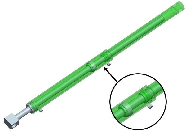 False rod cylinder
