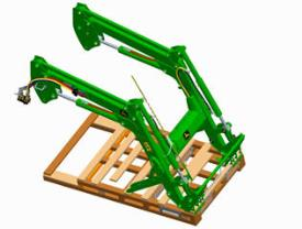 Tractor-ready front loader
