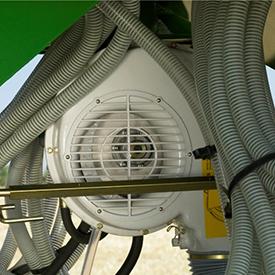 Hydraulically driven fan