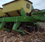 Granular fertilizer opener