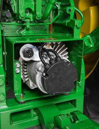 PTO power generation unit