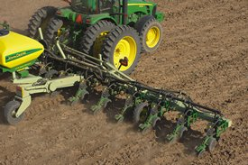 Custom-built 16Row40 integral planter