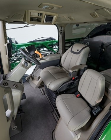 Ultimate Comfort and Convenience cab
