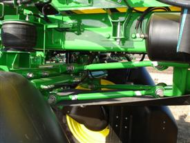 Air bag/shock suspension