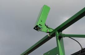 BoomTrac ultrasonic sensors measure the actual boom position 50 times a second