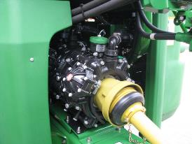 Powerful pumps for spray and fill capacity