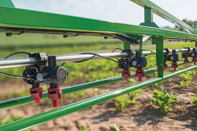 In-cab nozzle control saves valuable time when switching between nozzles