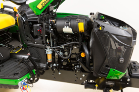 3-cylinder Yanmar TNV Series diesel engine