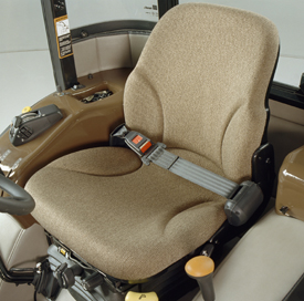 Deluxe cloth seat