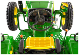 5050E Tractor straddle-mount operator