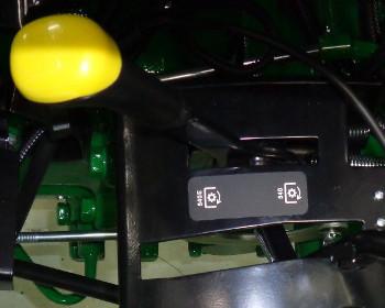 Dual PTO lever